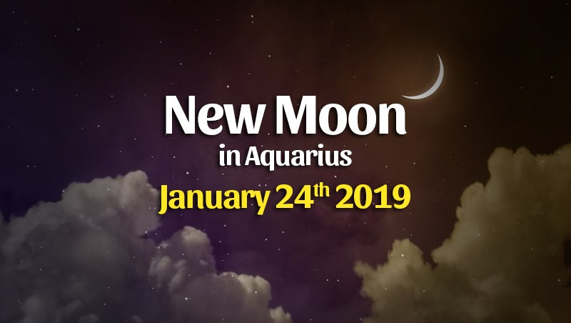 Horoscopes For The January 2020 New Moon in Aquarius