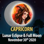 Capricorn - Lunar Eclipse & Full Moon Horoscope