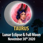 Taurus - Lunar Eclipse & Full Moon Horoscope