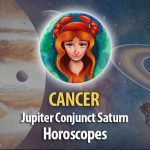 Cancer - Jupitern Conjunct Saturn Horoscope