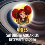 Aries - Saturn in Aquarius Horoscope