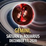Gemini - Saturn in Aquarius Horoscope