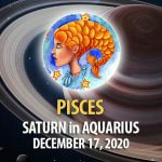 Pisces - Saturn in Aquarius Horoscope