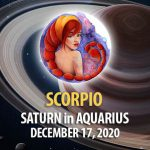 Scorpio - Saturn in Aquarius Horoscope