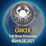 Cancer - Full Moon Horoscope, 28 March 2021
